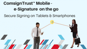 digital signature solution for mobile