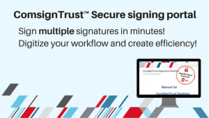 DIGITAL SIGNATURE PORTAL SIGN ON LINE