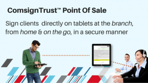 digital signature for point of sale